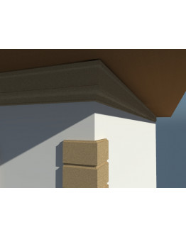 CORNISA DECORATIVA EXTERIOR NC122 305x70x2000